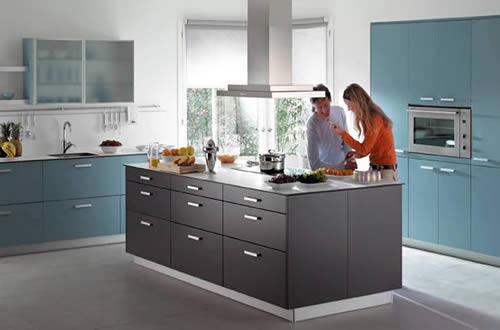 Cocinas modernas para casas y villas for Cocinas para casas
