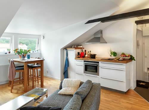 M s espacio en peque os apartamentos reformas for Apartamentos muy pequenos