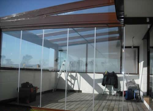 Cierre la terraza gane espacio reformas for Cierres de aluminio para terrazas