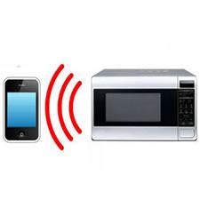 radiaciones de moviles y microondas