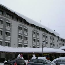 nieve en tejados