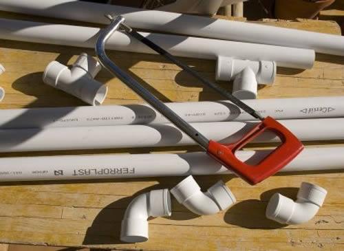 Instalar tuberías PVC