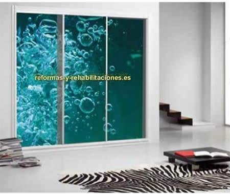 armarios con puertas correderas interiorismo y decoraci n skramer sa. Black Bedroom Furniture Sets. Home Design Ideas