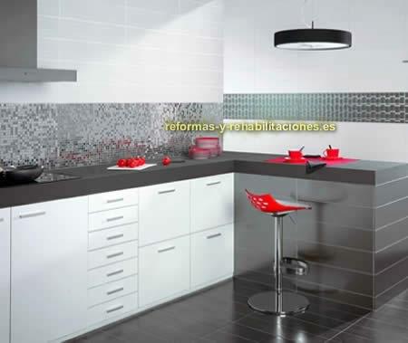 Cer micas para cocinas interiorismo y decoraci n skramer sa for Ceramicas para cocinas modernas