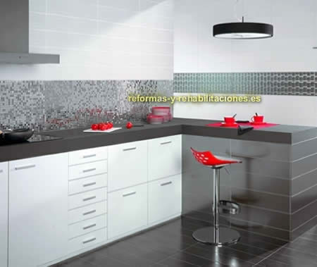 Cer micas para cocinas interiorismo y decoraci n skramer sa for Baldosas para cocinas modernas
