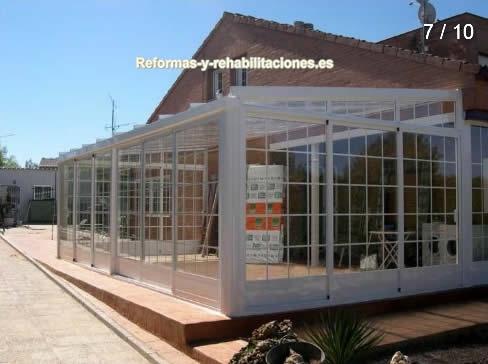 Porches de aluminio puertas y ventanas aluminios san juan - Puertas para porches ...