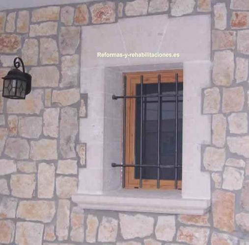 Reformas de fachadas piedra artificial ib - Piedra artificial para fachadas ...