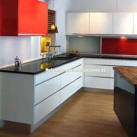 Reformas de cocinas modernas nva construcci n y reformas for Cocinas modernas barcelona