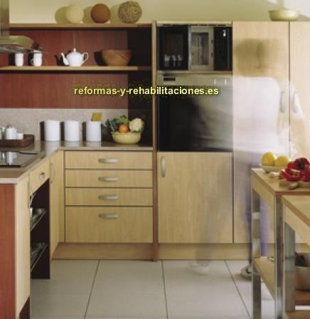 Mobiliario cocina mobiliario de cocina eilin for Mobiliario para cocina