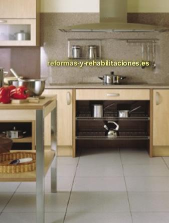 Mobiliarios para cocinas mobiliario de cocina eilin for Dimensiones de mobiliario de cocina