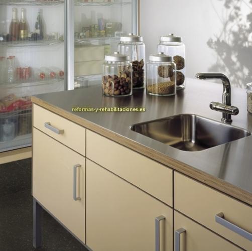 Muebles de cocinas con dise o mobiliario de cocina eilin for Empresas de muebles de cocina