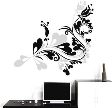 Vinilos modernos vinilos decorativos myvinilo for Vinilos decorativos interiores