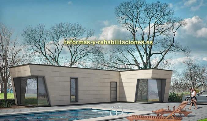 Casas modulares modernas casas modulares tecnohome - Casa modulares modernas ...