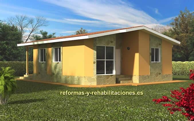 Casas prefabricadas con garaje casas modulares tecnohome - Casas prefabricadas canarias ...