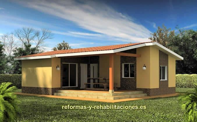 Construcciones casas modulares casas modulares tecnohome - Casas prefabricadas tenerife precios ...
