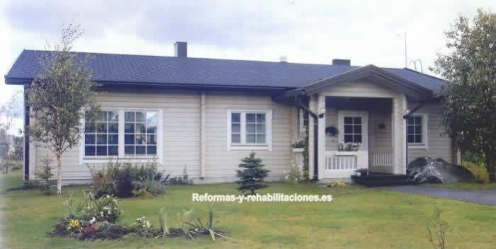 Construcciones casas en madera construcci n casas madera - Construcciones de casas de madera ...