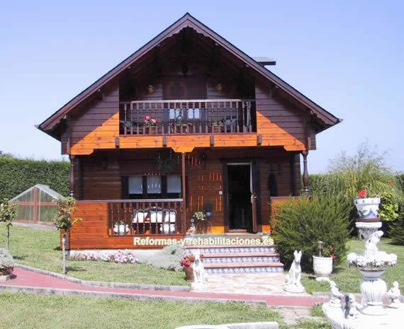 Construcci n de chalet construcci n casas madera - Chalet de madera ...