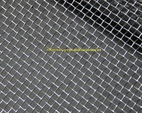 Vallas para cerramientos ruan cerramientos met licos Malla mosquitera metalica