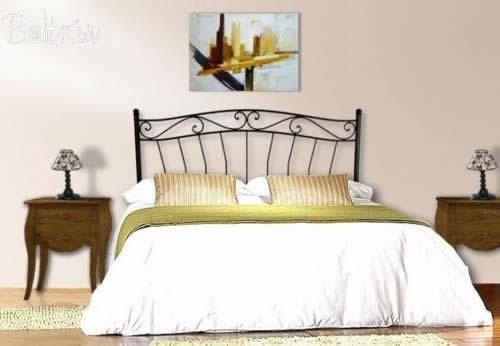 Cama forja muebles de forja beltr n for Muebles y decoracion beltran