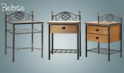 Muebles forja muebles de forja beltr n - Muebles de bano de forja ...