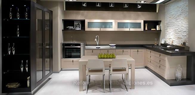 Mobiliario de cocinas modernas dise os arquitect nicos for Cocinas de exposicion baratas