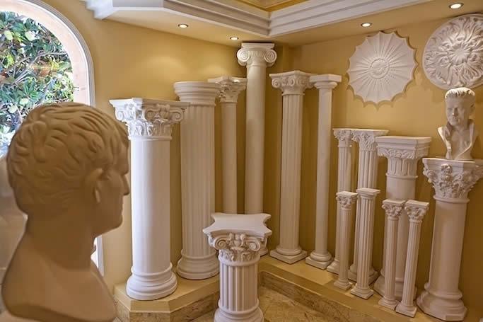 Columnas de escayola prefabricados san rafael - Decoracion de escayola ...