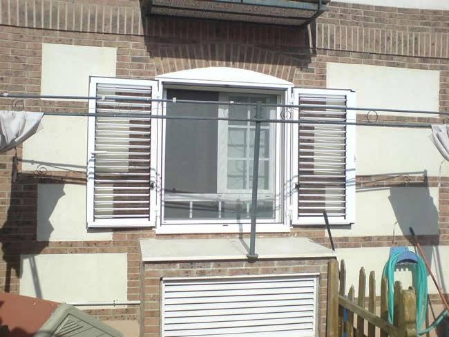 Ventanas mallorquinas puertas y ventanas aluminios vedama - Puertas mallorquinas ...