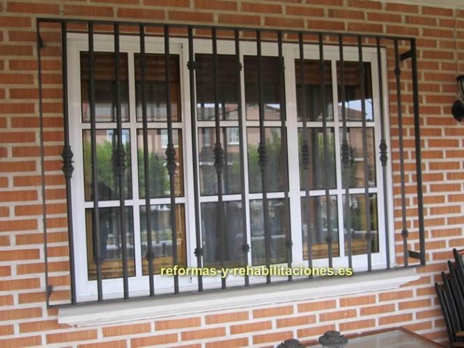 Rejas y ventanas pvc puertas y ventanas de aluminio penado - Rejas de aluminio ...