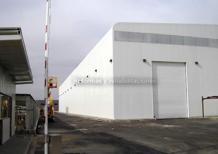 Construcciones naves industriales einveg ingenier a y - Empresa construccion madrid ...