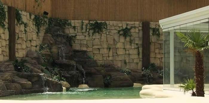 Construcci n de piscinas para chalet piscinas de arena - Construccion de piscinas de arena ...