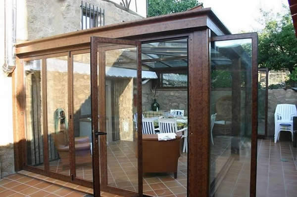Cerramientos de aluminio y pvc cerramientos aluminio y - Cerramientos de aluminio para porches ...