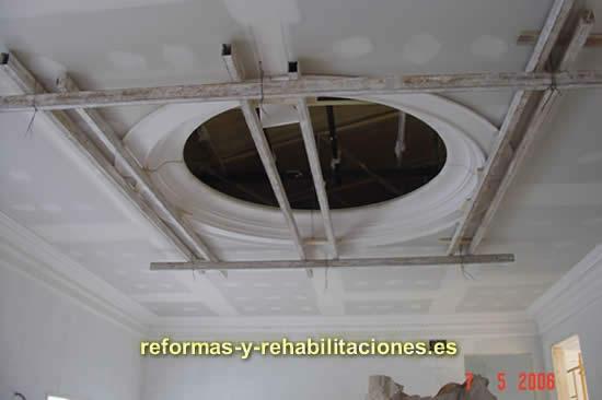 Escayola colocaci n de techos de escayola molduras murales - Techos de escayola ...
