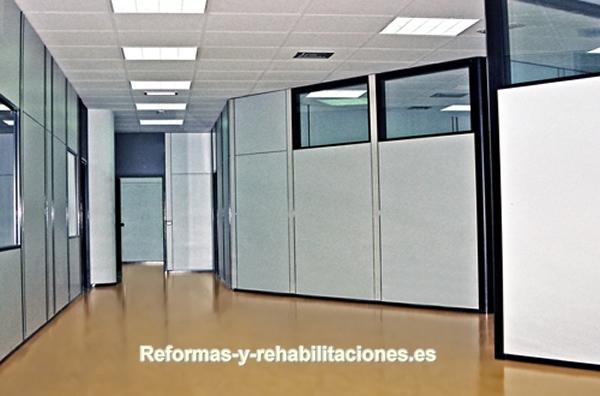 Mamparas oficina mamparas de oficina y tabiques modulares for Separadores de oficina