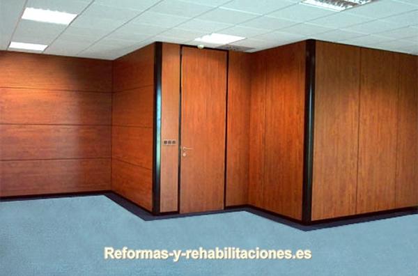 Mampara tecno mamparas de oficina y tabiques modulares for Separadores de oficina