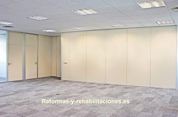 Mamparas Divisorias Mamparas De Oficina Y Tabiques Modulares