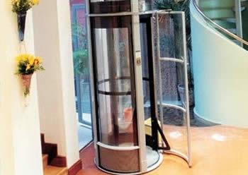 Ascensores para casas y villas elevadores neum tico y - Ascensores para viviendas unifamiliares ...