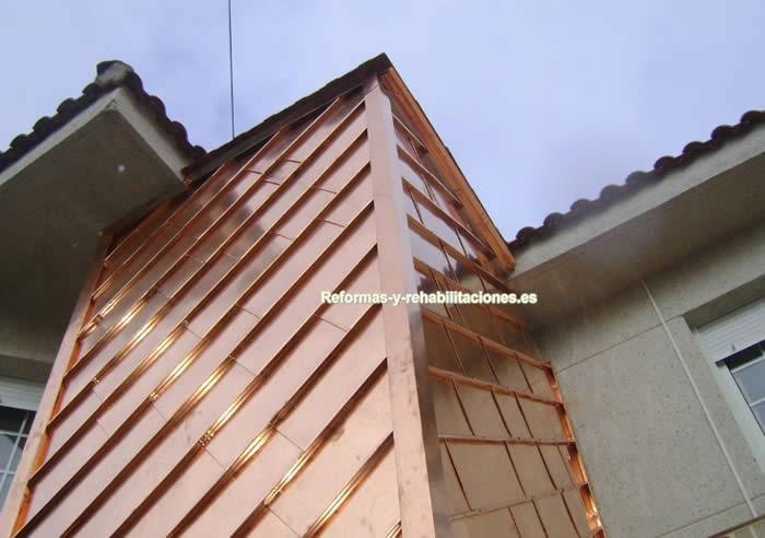 fachadas de cobre zetaene proyectos y cubiertas sl