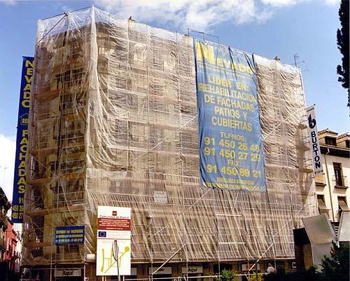 Restauraci n fachadas madrid nevado restauraciones y - Empresas de construccion en madrid ...