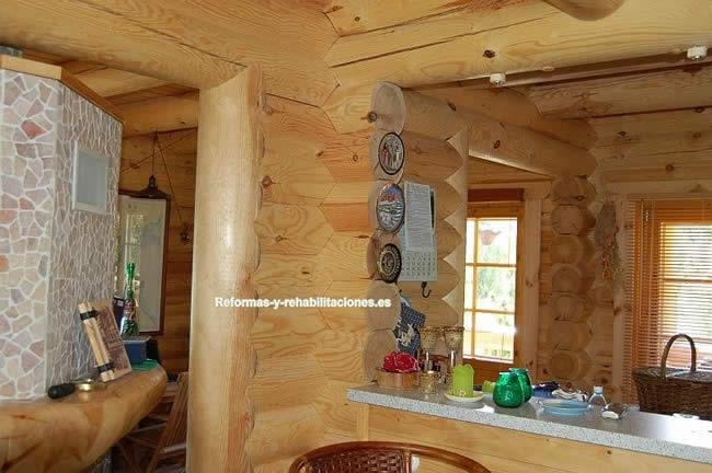 Casa por dentro casas de madera casamad for Decoracion de casa x dentro