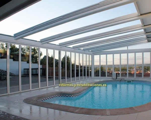 Cerramientos de piscinas carpinter a aluminio alumencart - Carpinteria de aluminio en murcia ...