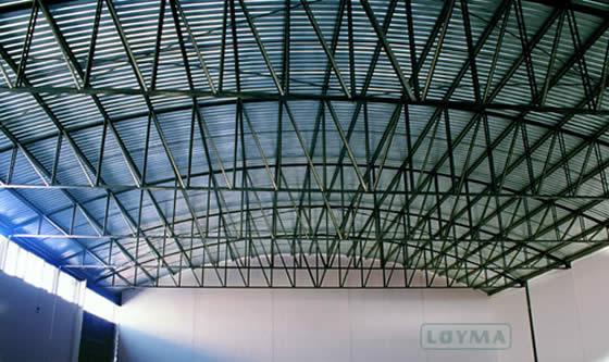Techos met licos estructura met licas loyma - Estructuras metalicas murcia ...