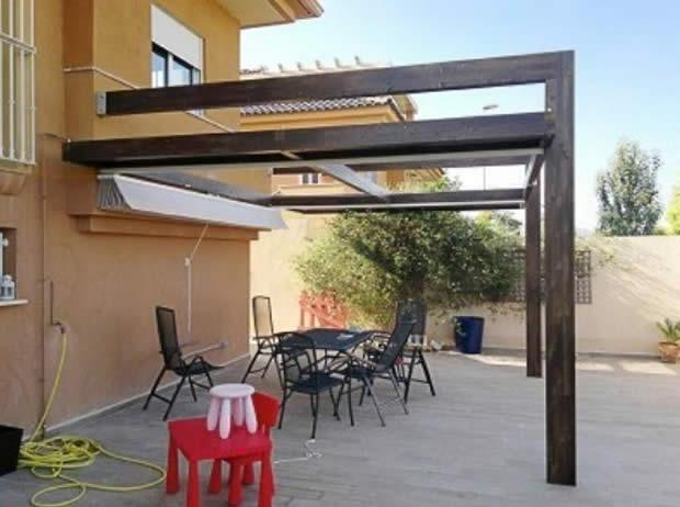 Pergolas para terraza prgolas de diseo para tu jardn o - Terrazas de madera precios ...
