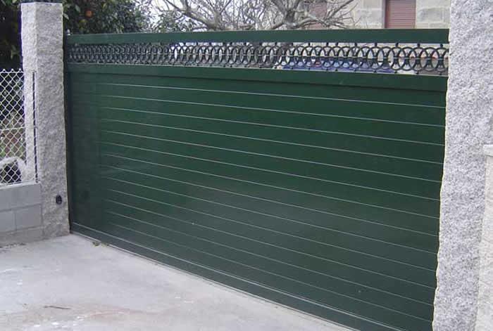 Portales de aluminio cerrajer a tob o - Empresas de construccion en pontevedra ...