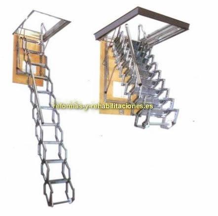 Escalera para techos la casa de la escalera - Escaleras de techo ...