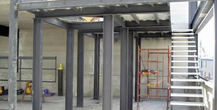 Altillos para escaleras estructuras met licas joybe sl - Empresas construccion valencia ...
