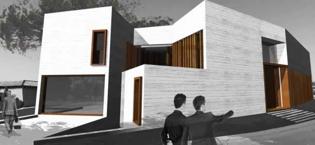 Casas modernas prefabricadas trahus casas de madera modernas for Casas prefabricadas modernas