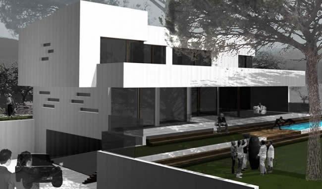 Construcci n casas de madera trahus casas de madera modernas - Empresas de construccion valencia ...