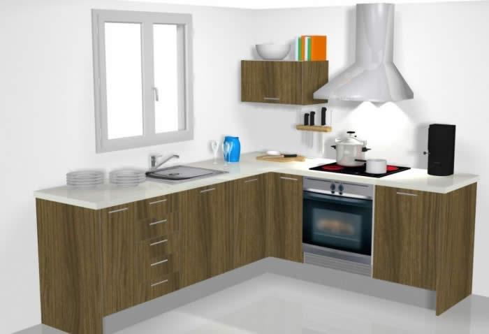 Cocinas modulares valencia cocina f cil muebles de cocina - Muebles de cocina modulares ...