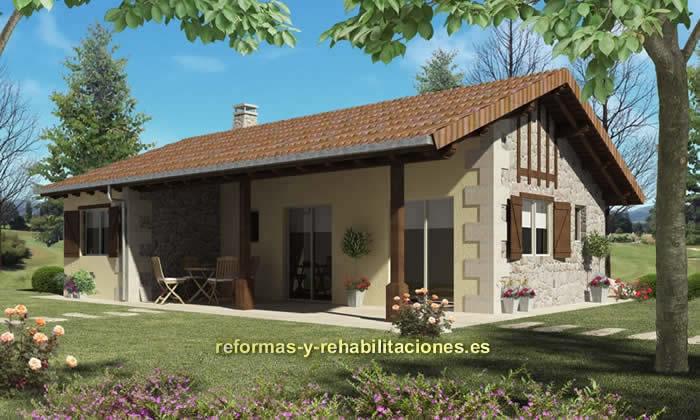 Construcci n de casas ekoetxe sl - Casas prefabricadas vizcaya ...