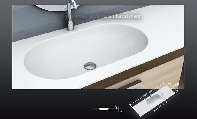Densificados encimeras ba o lavabos a medida densificados sl - Encimeras lavabos bano ...